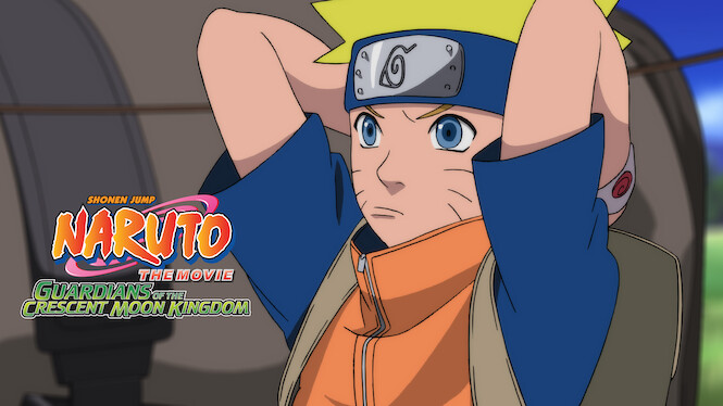 Naruto the Movie 3: Guardians of the Crescent Moon Kingdom on Netflix USA